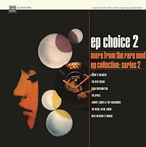 Various<br>EP Choice 2 (More From The Rare Mod EP Collection: Series 2)<br>CD, Comp